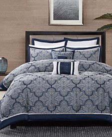 Medina 8-Pc. Queen Comforter Set