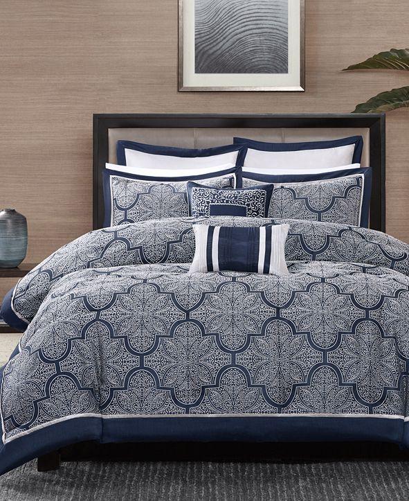 Madison Park Medina 8-Pc. Queen Comforter Set