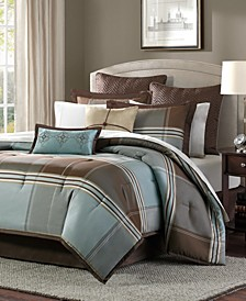 Lincoln Square 8-Pc. Queen Comforter Set