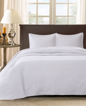 Madison Park Corrine 3-Pc. Quilted Queen Bedspread Set Bedding