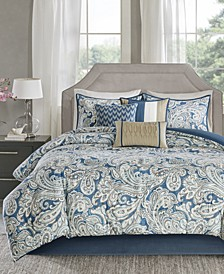 Gabby 7-Pc. California King Comforter Set