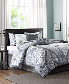 Madison Park Vienna Cotton 7-Pc. Queen Comforter Set