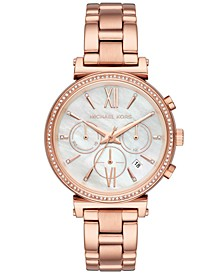 Women's Sofie Rose Gold-Tone Stainless Steel Bracelet Watch 39mm