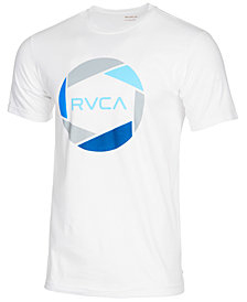 RVCA Men's Big Network Logo-Print T-Shirt