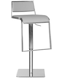 Aira Swivel Bar Stool, Quick Ship