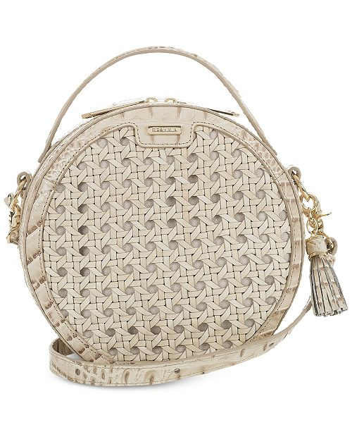 Brahmin Lane Canvas Lima Circle Crossbody
