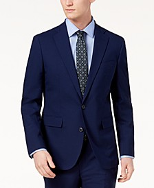 Men's Grand.OS Wearable Technology Slim-Fit Stretch Solid Suit Jacket
