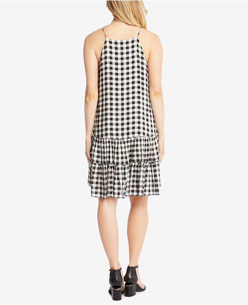 Dress Drop Kane Check Waist Karen Gingham xgACqT