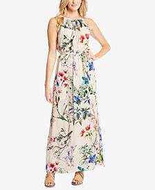 Karen Kane Floral-Print Halter Maxi Dress