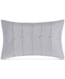 "Charisma Molani Pleated Faux-Silk 14"" x 22"" Decorative Pillow"