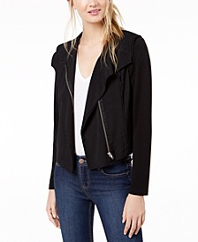 Knit Moto Jacket, Created for Macy's