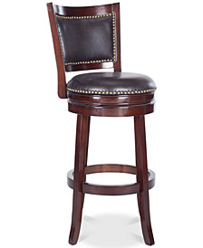 Idaline Swivel Bar Stool, Quick Ship