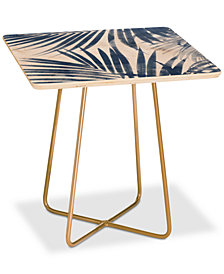 Deny Designs Emanuela Carratoni Serenity Palms Square Side Table