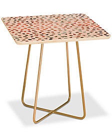 Deny Designs Hello Sayang Sweet Rose Petals Square Side Table
