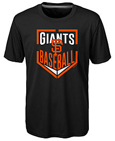 Outerstuff San Francisco Giants Run Scored Poly T-Shirt, Big Boys (8-20)