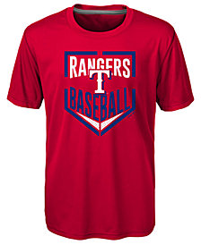 Outerstuff Texas Rangers Run Scored T-Shirt, Little Boys (4-7)