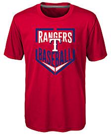 Outerstuff Texas Rangers Run Scored T-Shirt, Little Boys (4-7)