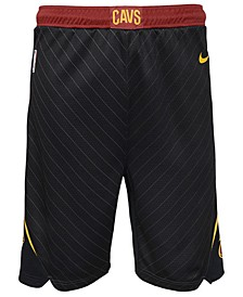 Cleveland Cavaliers Statement Swingman Shorts, Big Boys (8-20)