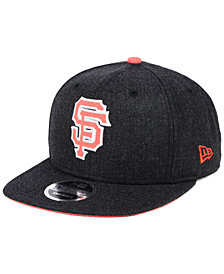 New Era San Francisco Giants Heather Hype 9FIFTY Snapback Cap