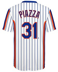 Mike Piazza New York Mets Coop Poly Player T-Shirt, Big Boys (8-20)