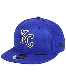 New Era Kansas City Royals Heather Hype 9FIFTY Snapback Cap