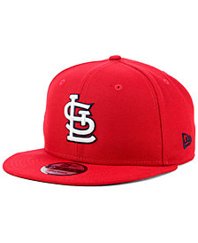 New Era St. Louis Cardinals Title Trim 9FIFTY Snapback Cap