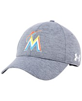 64d73eb60d3 Under Armour Miami Marlins Twist Closer Cap