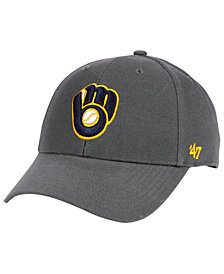 '47 Brand Milwaukee Brewers Charcoal MVP Cap