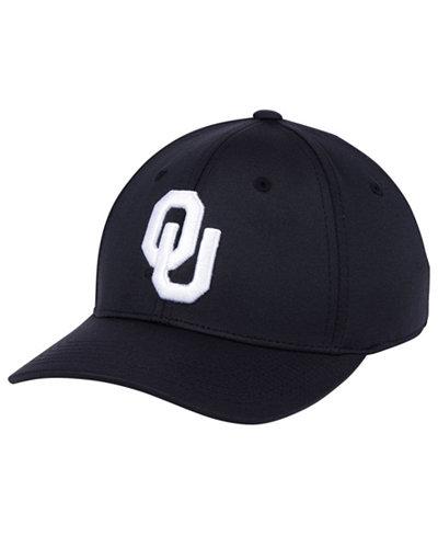 Top of the World Oklahoma Sooners Phenom Flex Black White Cap