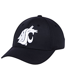 Top of the World Washington State Cougars Phenom Flex Black White Cap