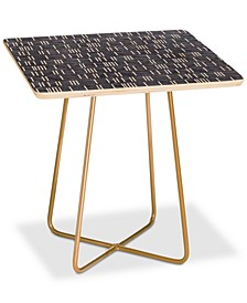 Holli Zollinger Mudcloth Light Square Side Table