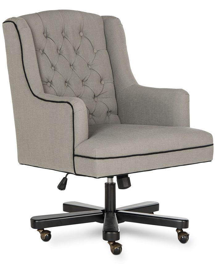 Safavieh - Justyn Office Chair, Quick Ship