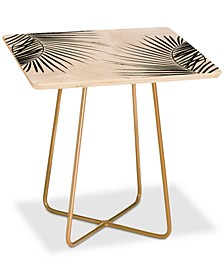Mareike Boehmer Palm Leaves Square Side Table