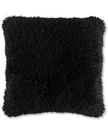 "Lavish Home 24"" Shag Floor Pillow"
