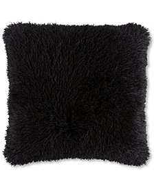 "Lavish Home 24"" Shag Floor Pillow"