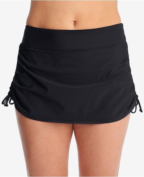 d5043db2ca Swim Solutions Tummy-Control Side-Tie Swim Skirt