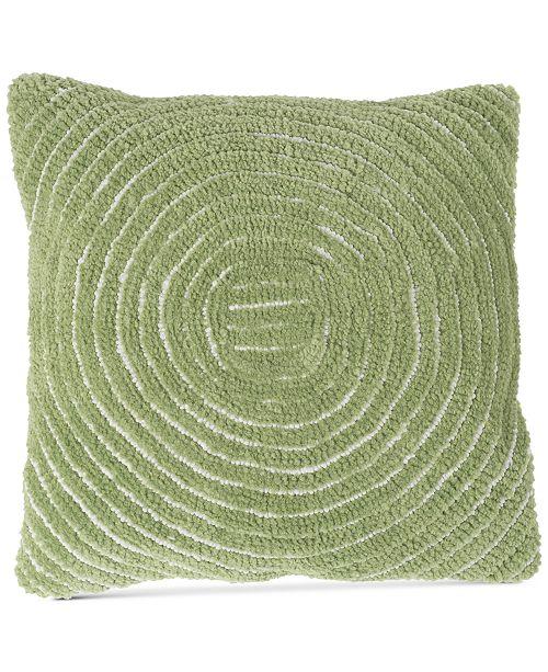 "Baldwin Modern Geometric Circle 18"" Decorative Throw Pillow"