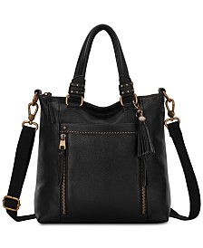 The Sak Sequoia Small Leather Crossbody