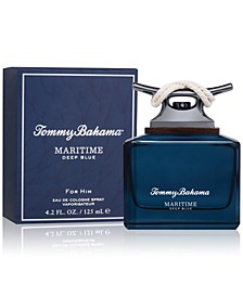 Men's Maritime Deep Blue Eau de Cologne Spray, 4.2-oz.