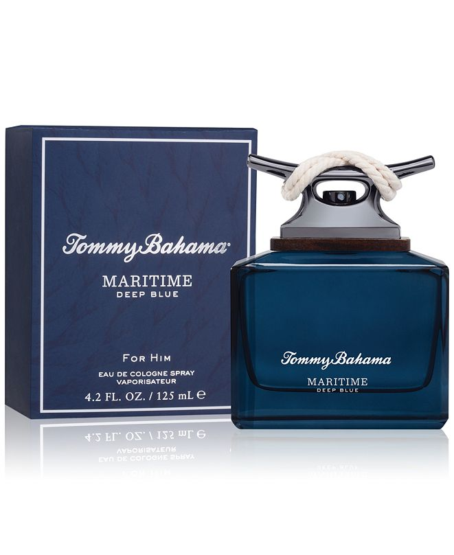 Tommy Bahama Men's Maritime Deep Blue Eau de Cologne Spray, 4.2-oz.
