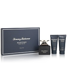 Tommy Bahama Men's 3-Pc. Maritime Deep Blue Gift Set