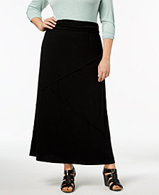 Style & Co Plus Size Maxi Skirt, Created for Macy's