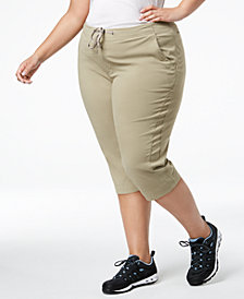 Columbia Plus Size Anytime Outdoor Capri Pants