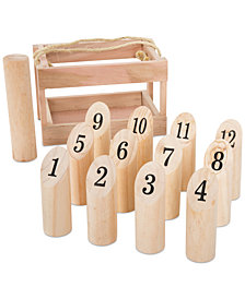 14-Pc. Molkky Throwing Game Set