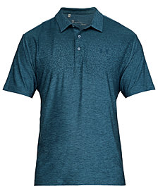 Under Armour Men's Playoff Performance Heather Golf Polo
