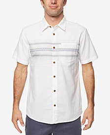 O'Neill Men's Lariat Engineered-Stripe Pocket Shirt