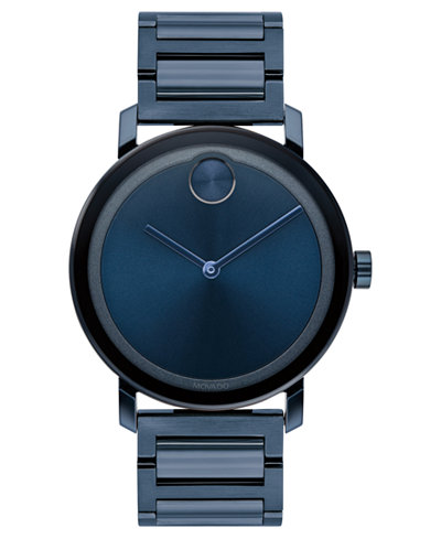 Swiss BOLD Evolution Blue Stainless Steel Bracelet Watch    <table align='center'> <tr><th>Size:40mm</th></tr><tr><td>$535.00</td></tr></table>