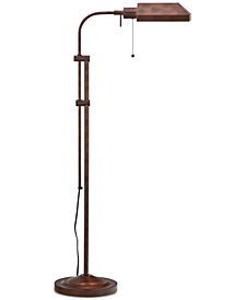 Cal Lighting Rust Pharmacy Floor Lamp