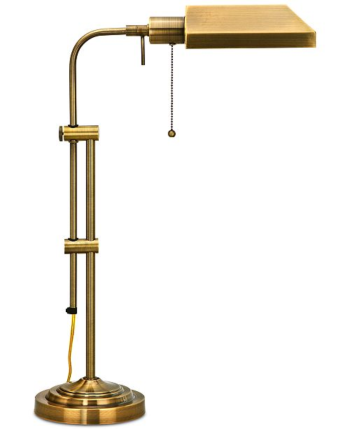 Cal Lighting Pharmacy Table Lamp with Adjustable Pole