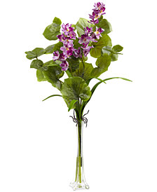 Nearly Natural Orchid Silk Arrangement